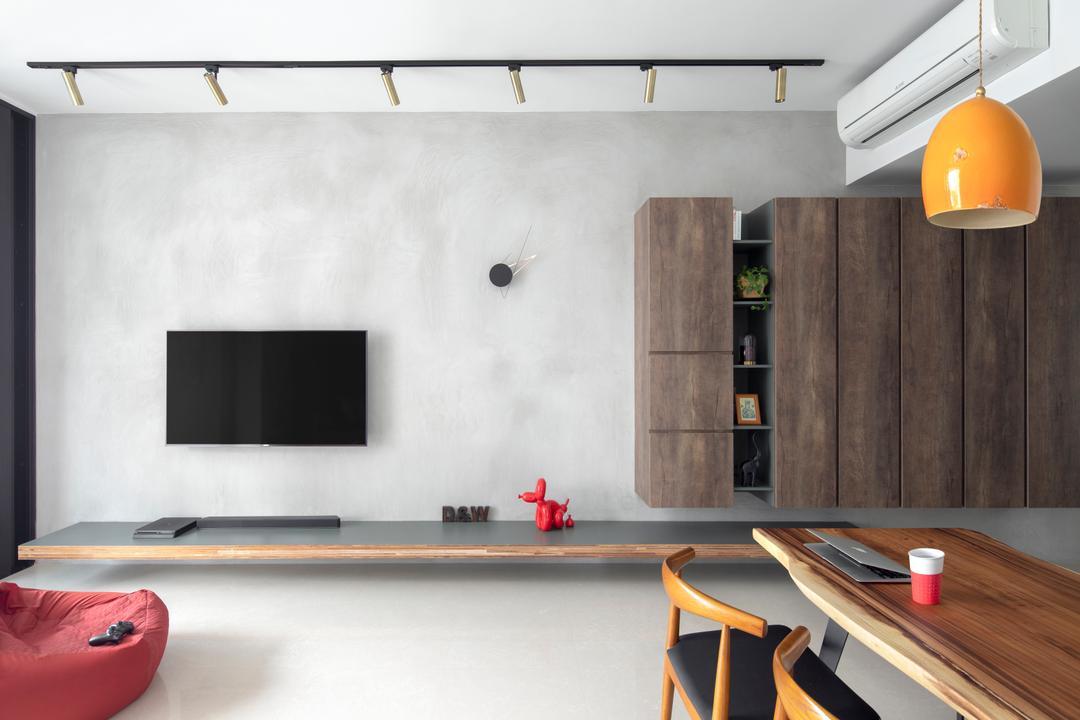 The Crest Living Room Interior Design 1