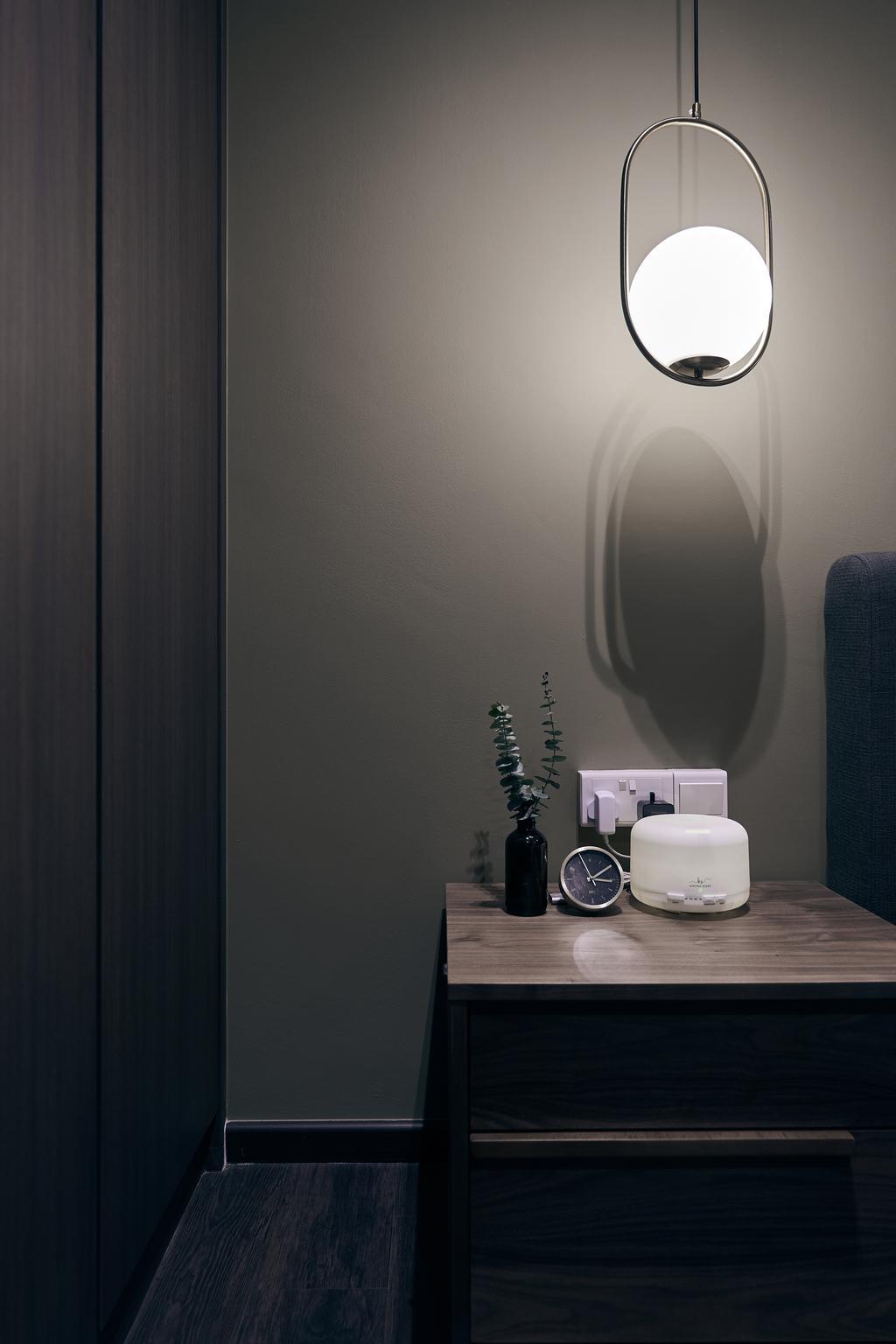 Contemporary, HDB, Bedroom, Toa Payoh E, Interior Designer, Rockin Spaces