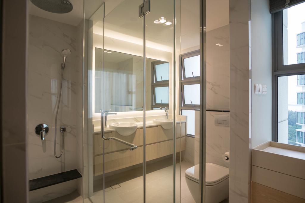 Contemporary, Condo, Bathroom, The Belvedere, Interior Designer, erstudio
