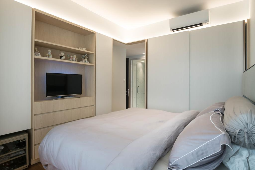 Contemporary, Condo, Bedroom, The Belvedere, Interior Designer, erstudio