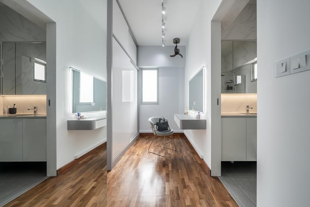Contemporary, HDB, Bedroom, Punggol Place, Interior Designer, Weiken.com