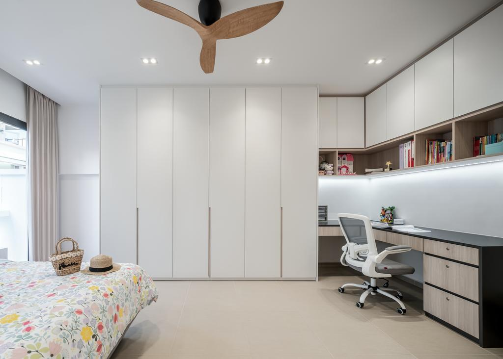 Contemporary, Landed, Bedroom, Springside Link, Interior Designer, Weiken.com