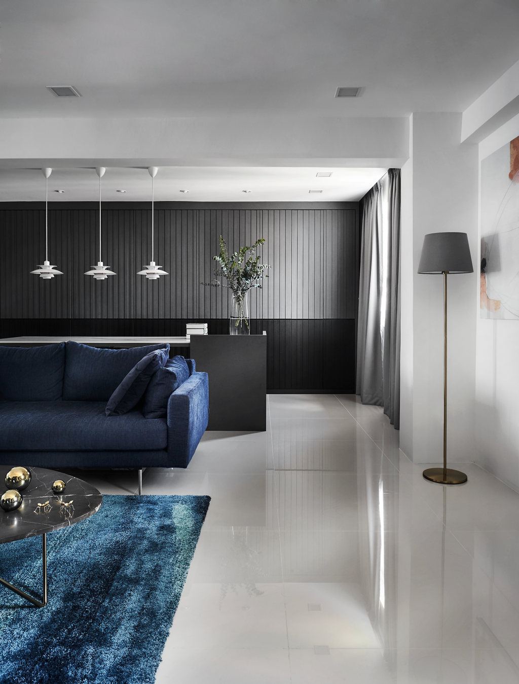 Contemporary, HDB, Living Room, Hougang Avenue 3, Interior Designer, Dan's Workshop, Modern
