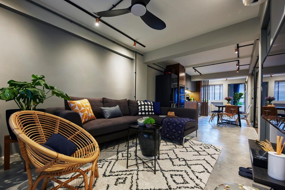 Kallang Bahru (Block 65) Living Room Interior Design 22