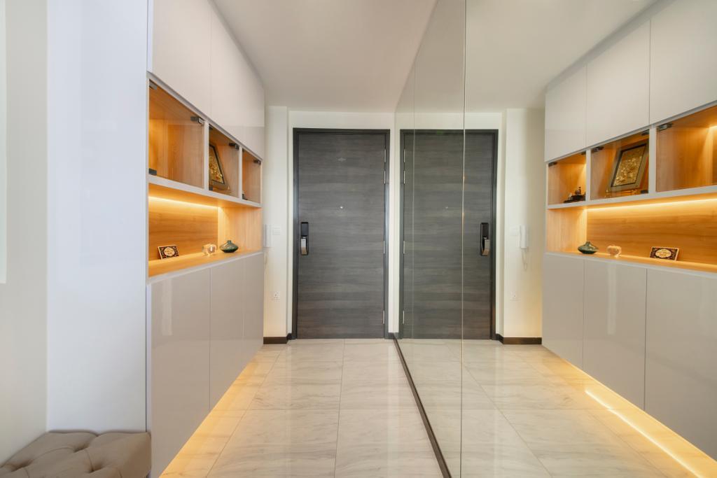 Minimalistic, Condo, Living Room, The Poiz Residences, Interior Designer, ECasa Studio