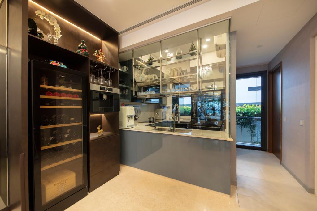 Modern, Landed, Dining Room, Eng Kong Road, Interior Designer, ECasa Studio