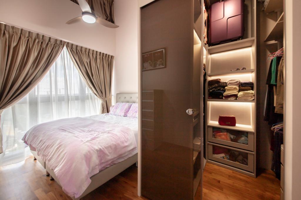 Minimalistic, Condo, Bedroom, The Poiz Residences, Interior Designer, ECasa Studio