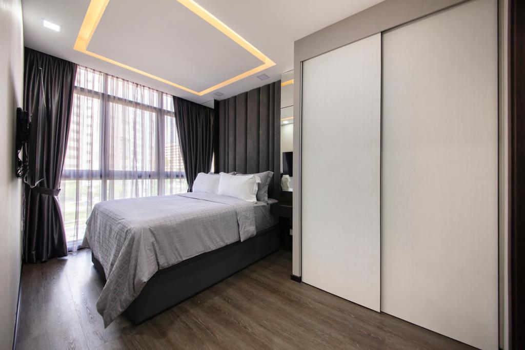 Modern, Condo, Bedroom, Symphony Suites, Interior Designer, ECasa Studio
