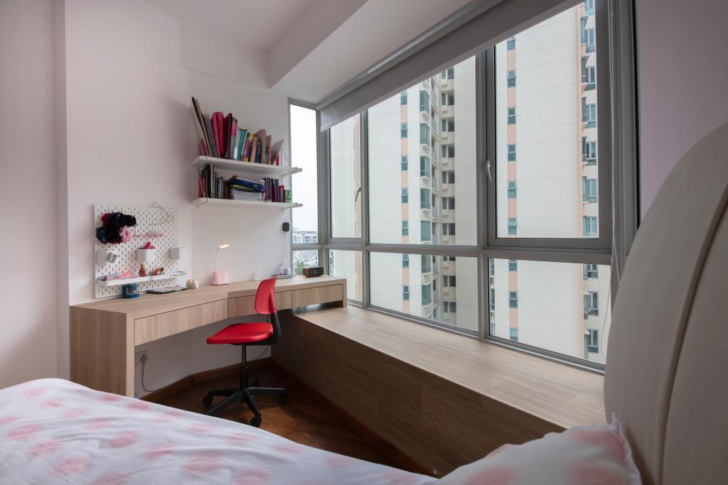 Modern, Condo, Bedroom, Kovan Melody, Interior Designer, ECasa Studio