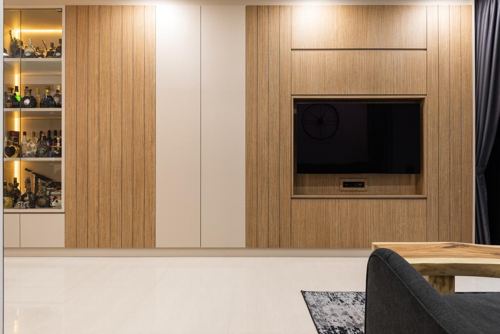 Contemporary, Condo, Living Room, High Park Residences, Interior Designer, Ascend Design