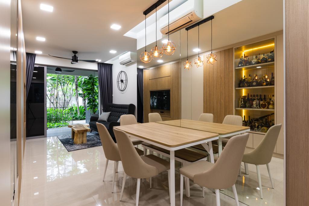 Contemporary, Condo, Dining Room, High Park Residences, Interior Designer, Ascend Design