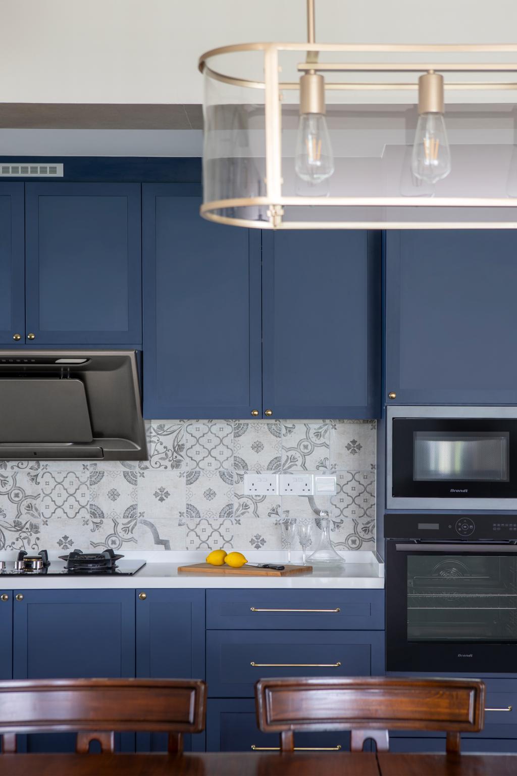 Eclectic, HDB, Kitchen, Compassvale Lane, Interior Designer, Adroit ID