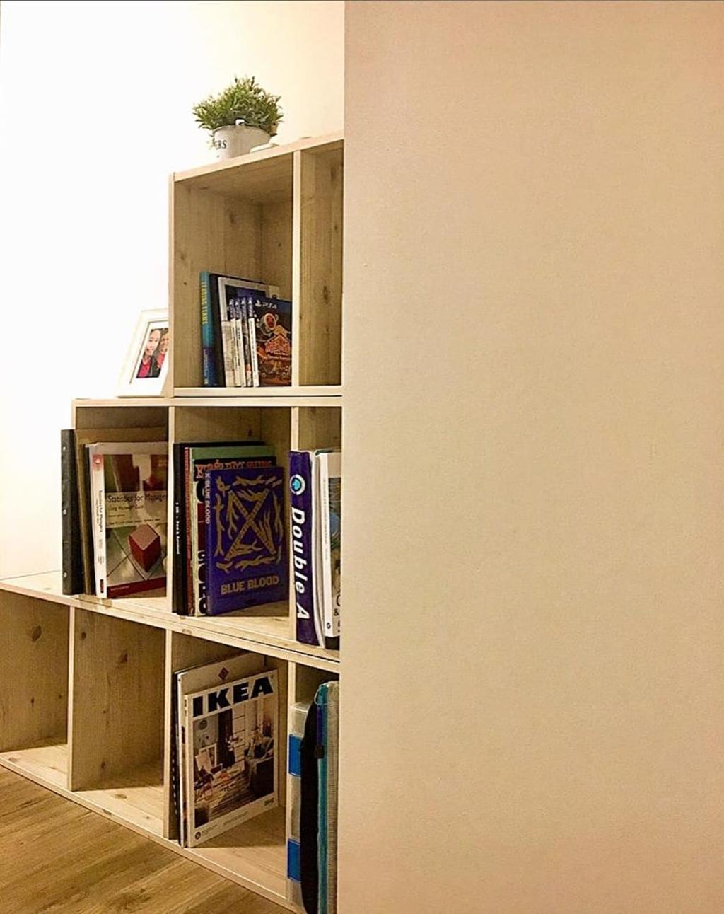 Minimalistic, HDB, Study, Bukit Batok West Avenue 6, Interior Designer, Le Bleu Art