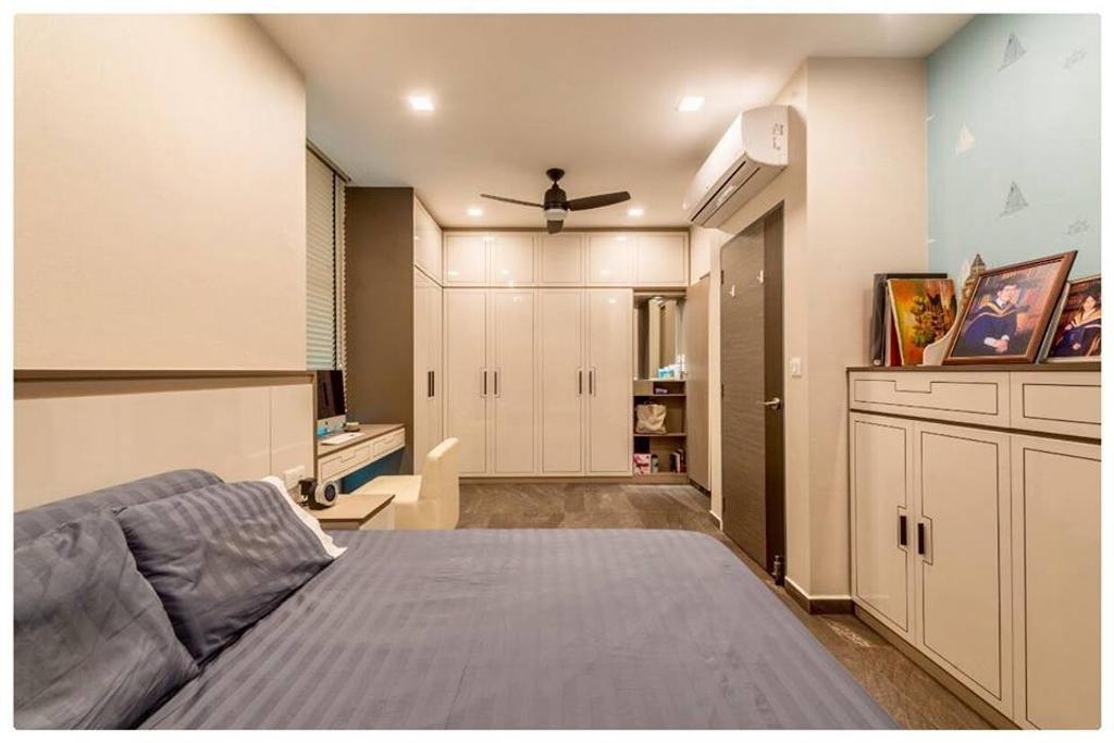Modern, Condo, Bedroom, Horizon Residences, Interior Designer, Le Bleu Art