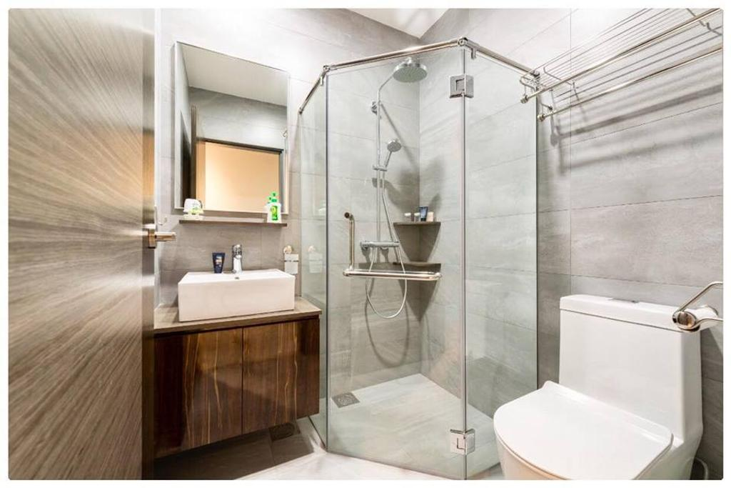 Modern, Condo, Bathroom, Horizon Residences, Interior Designer, Le Bleu Art