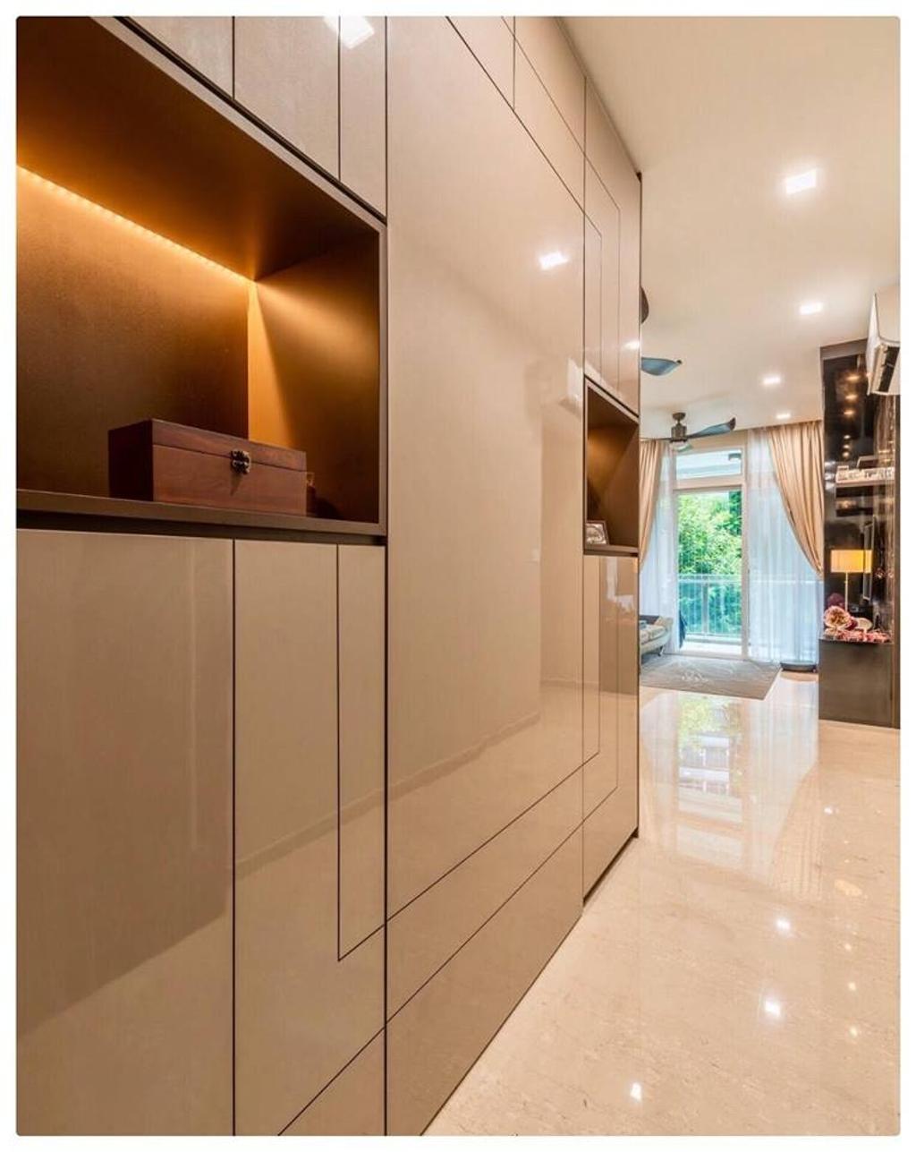 Modern, Condo, Living Room, Horizon Residences, Interior Designer, Le Bleu Art
