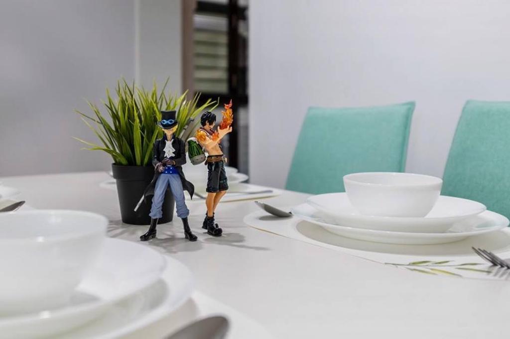 Minimalistic, HDB, Dining Room, Keat Hong Mirage, Interior Designer, Le Bleu Art