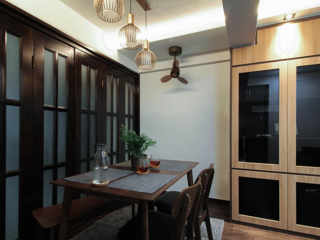 Contemporary, HDB, Dining Room, Telok Blangah Crescent, Interior Designer, Sense & Semblance