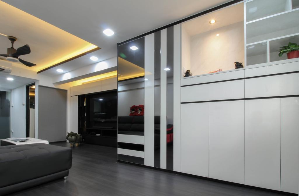 Contemporary, HDB, Ang Mo Kio Avenue 10, Interior Designer, Sense & Semblance