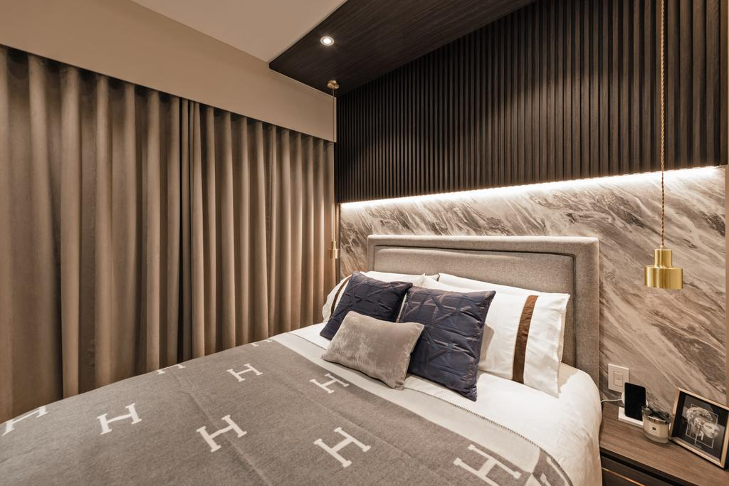 Modern, Condo, Bedroom, Kingsford Waterbay, Interior Designer, Mr Shopper Studio, Contemporary
