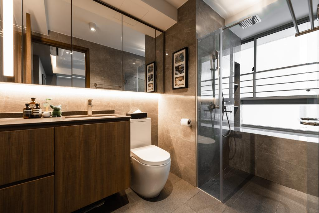 Contemporary, Condo, Bathroom, City View, Interior Designer, Mr Shopper Studio