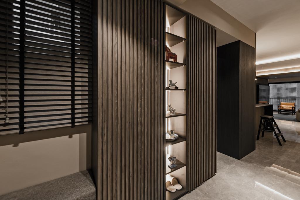 Contemporary, Condo, Living Room, City View, Interior Designer, Mr Shopper Studio