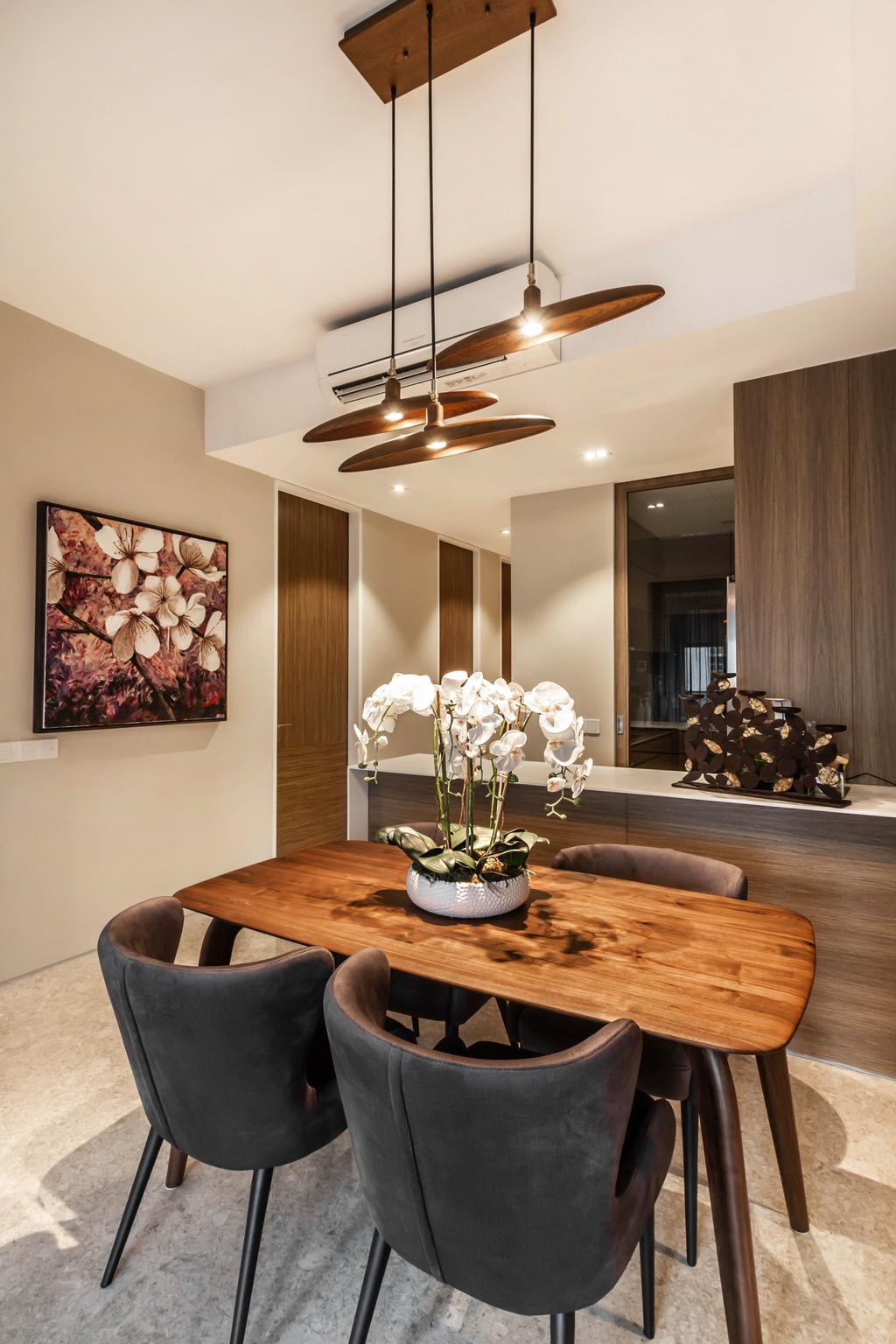 Transitional, Condo, Dining Room, Echelon, Interior Designer, Mr Shopper Studio, Contemporary