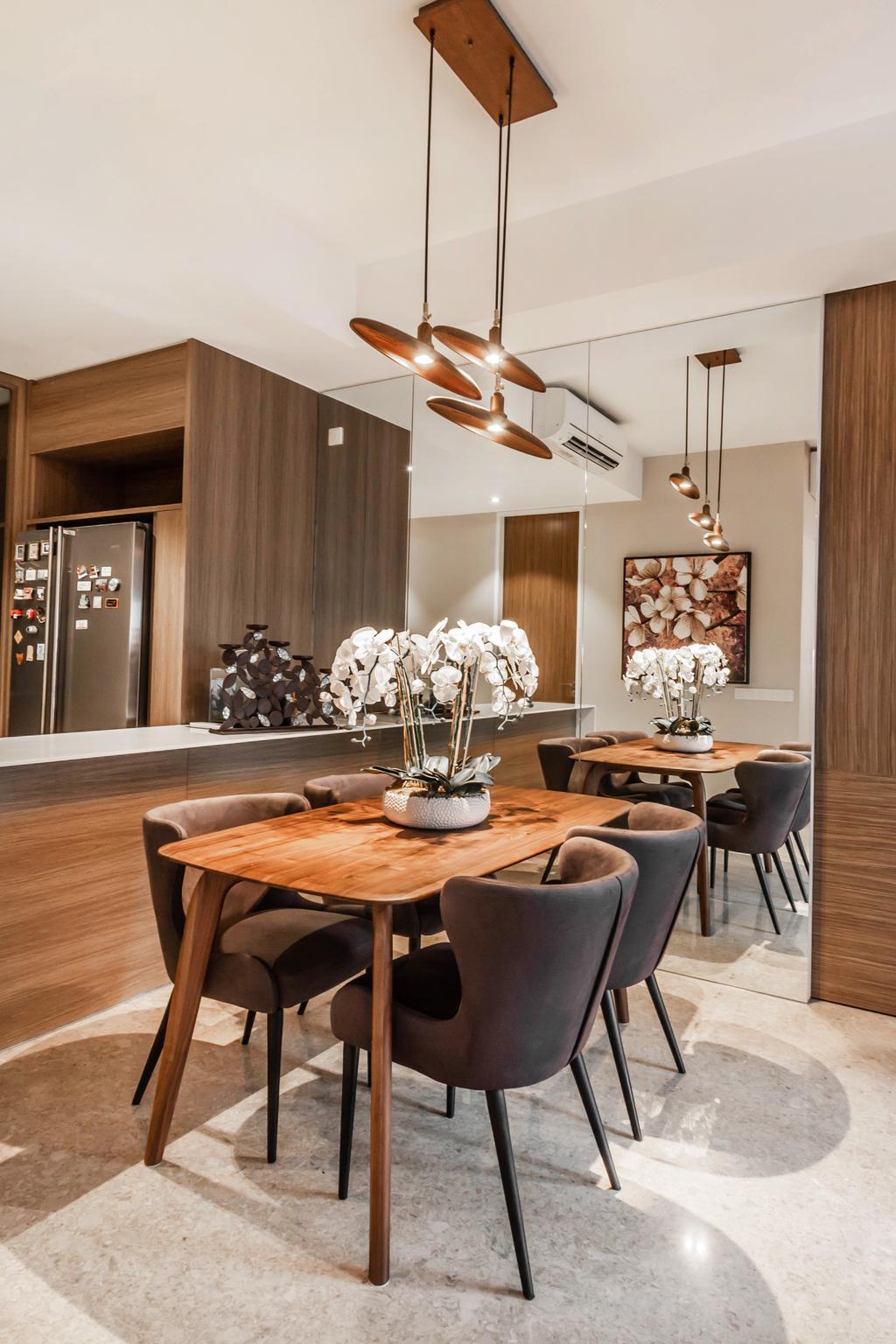 Transitional, Condo, Dining Room, Echelon, Interior Designer, Mr Shopper Studio, Contemporary