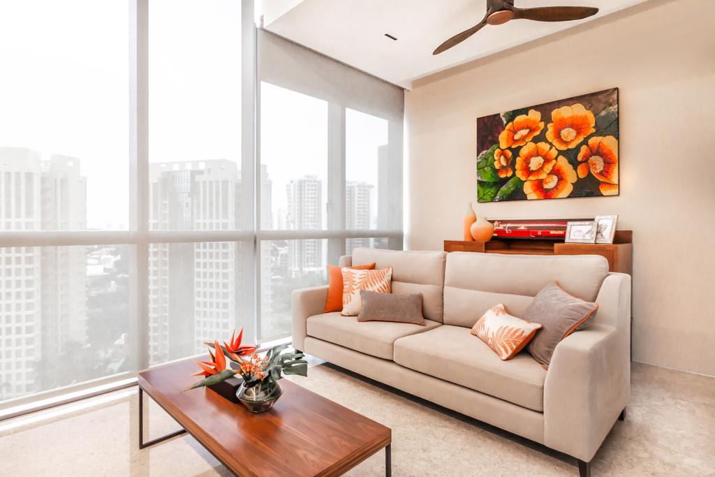 Transitional, Condo, Living Room, Echelon, Interior Designer, Mr Shopper Studio, Contemporary