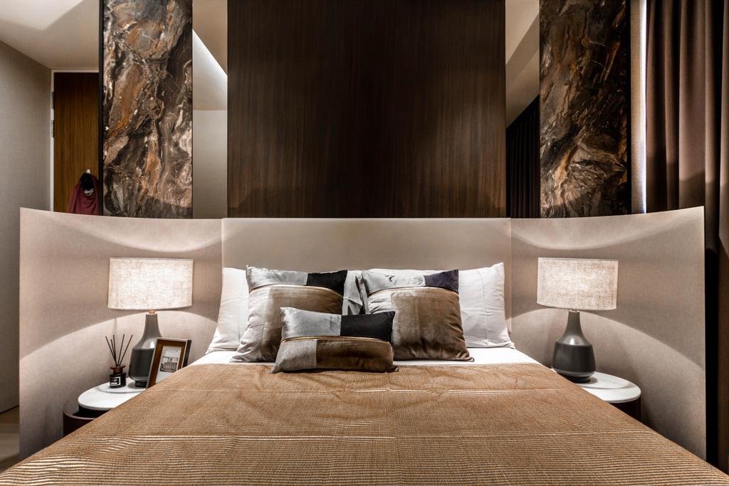 Transitional, Condo, Bedroom, Echelon, Interior Designer, Mr Shopper Studio, Contemporary