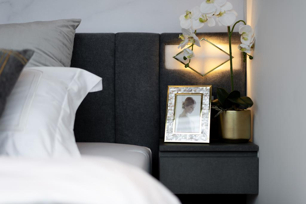 Modern, Condo, Bedroom, Tre Residences, Interior Designer, Mr Shopper Studio, Contemporary