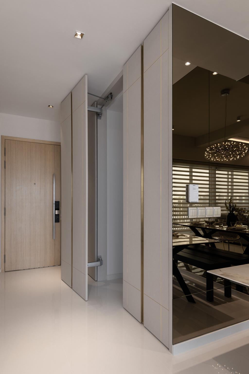 Modern, Condo, Living Room, Tre Residences, Interior Designer, Mr Shopper Studio, Contemporary