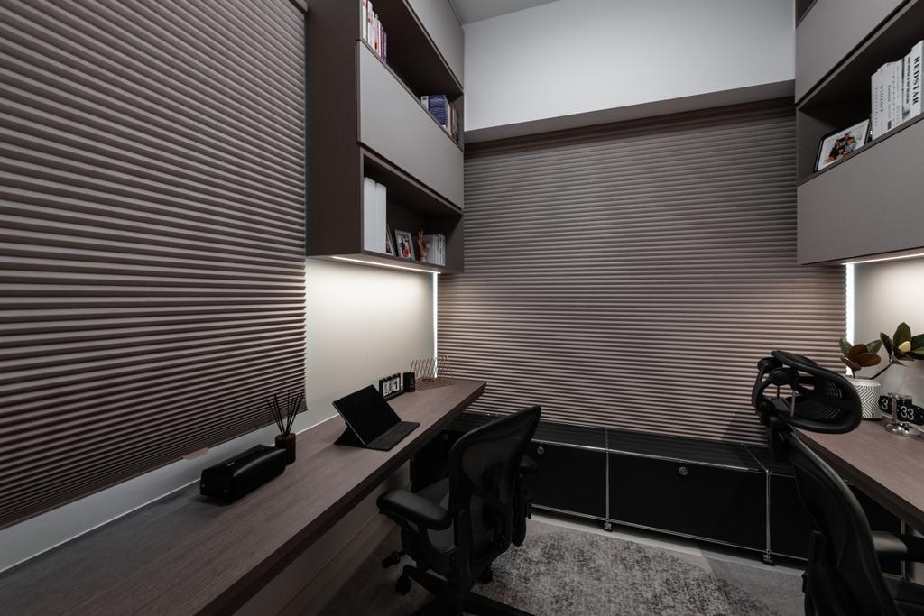 Modern, Condo, Study, Tre Residences, Interior Designer, Mr Shopper Studio, Contemporary
