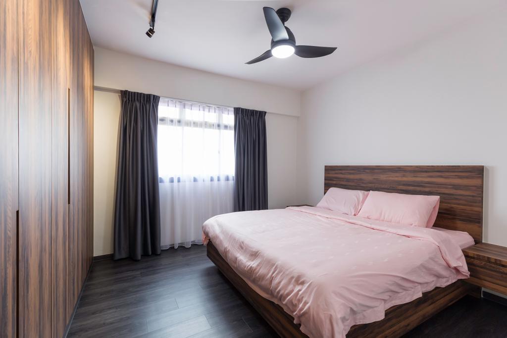 Contemporary, HDB, Bedroom, Bedok Reservoir View, Interior Designer, Yang's Inspiration Design