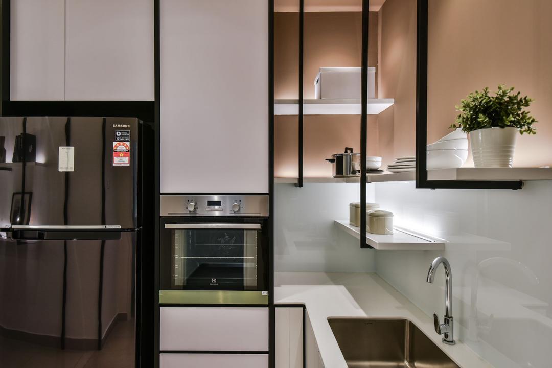 A&M Service Apartment Show Unit, Kota Kemuning by SQFT Space Design Management