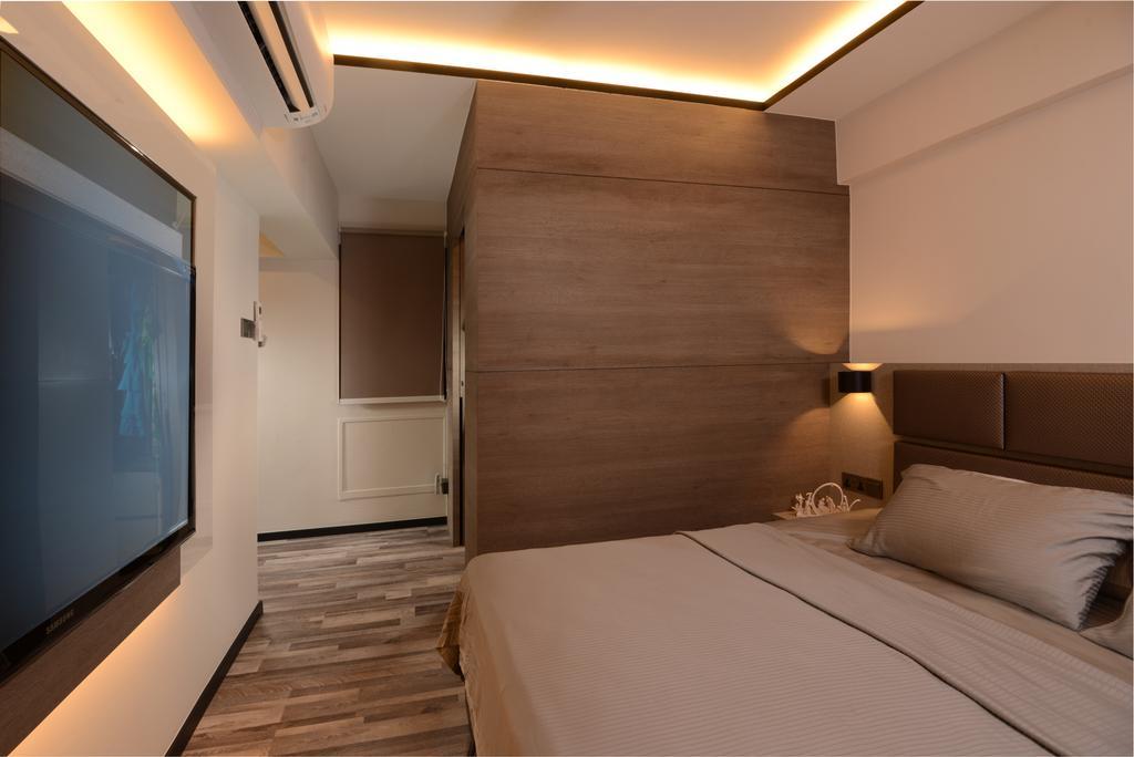 Contemporary, Condo, Bedroom, Parc Life, Interior Designer, Apex Design