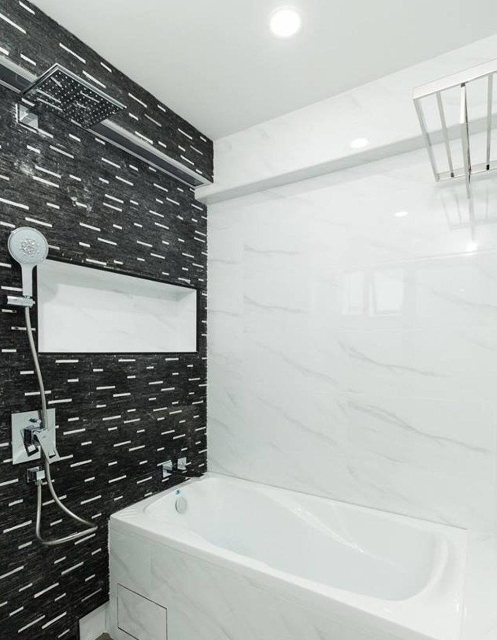 Contemporary, HDB, Bathroom, Bukit Purmei, Interior Designer, Patrick's Interior Dezign