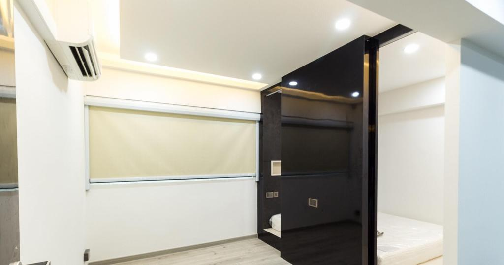 Contemporary, HDB, Bedroom, Bukit Purmei, Interior Designer, Patrick's Interior Dezign