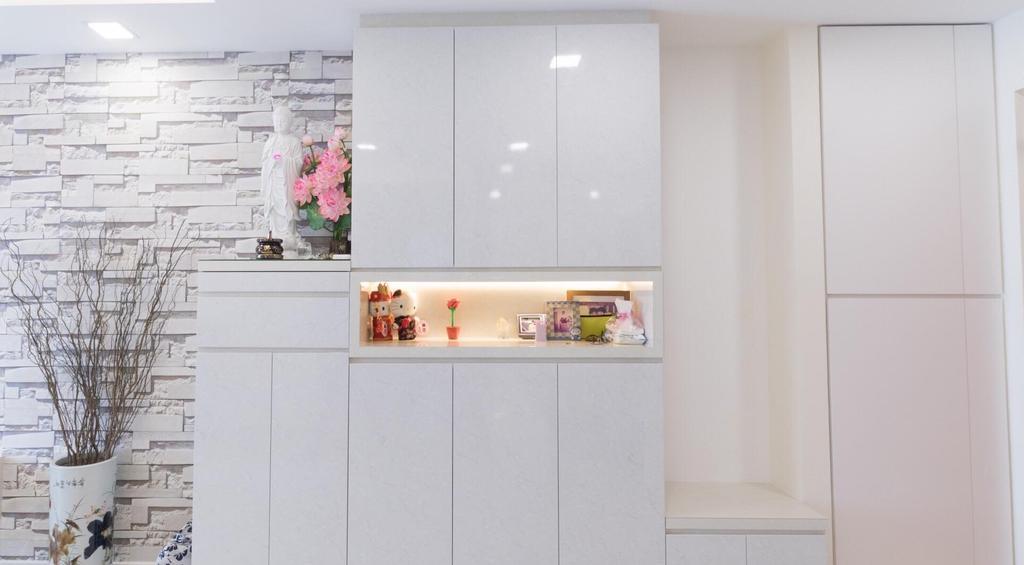 Modern, HDB, Living Room, Henderson, Interior Designer, Patrick's Interior Dezign, Contemporary