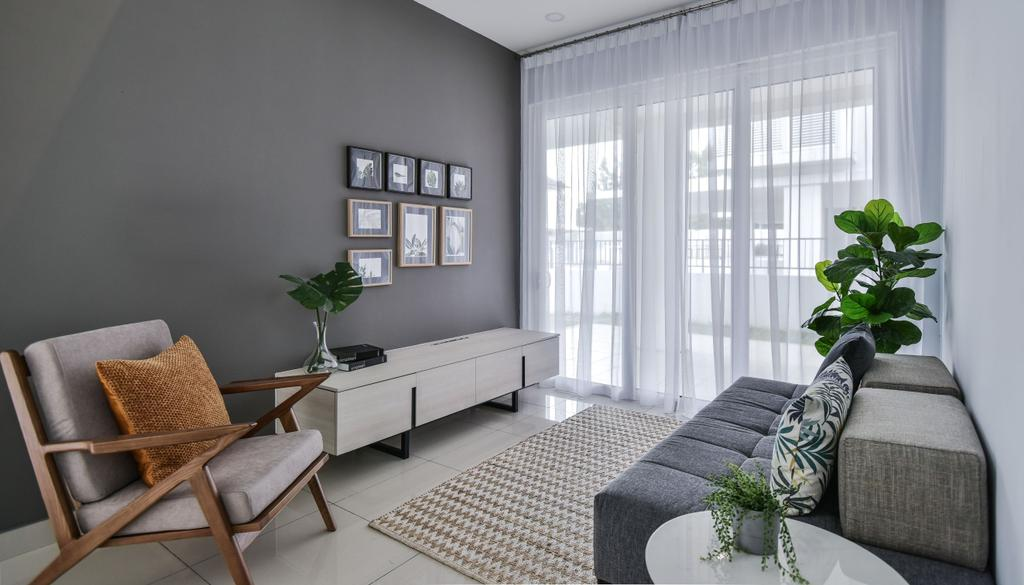 Modern, Landed, Dining Room, Chemera Hill Show Unit Type SD2, Seremban, Interior Designer, SQFT Space Design Management, Contemporary