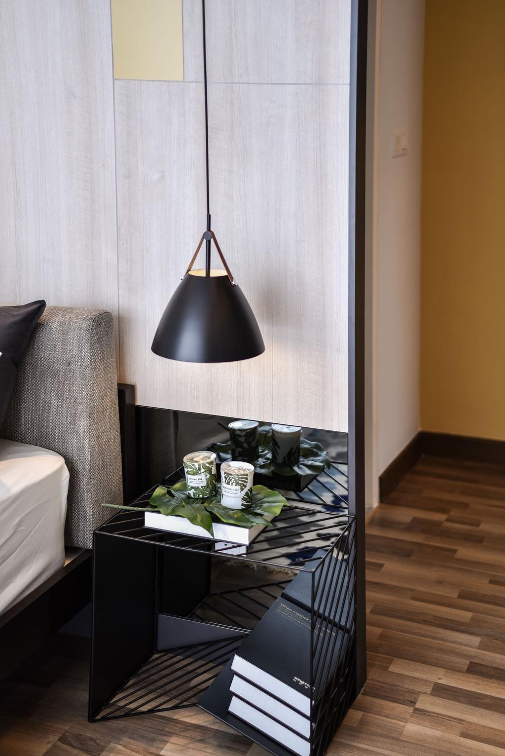 Modern, Landed, Bedroom, Chemera Hill Show Unit Type SD2, Seremban, Interior Designer, SQFT Space Design Management, Contemporary