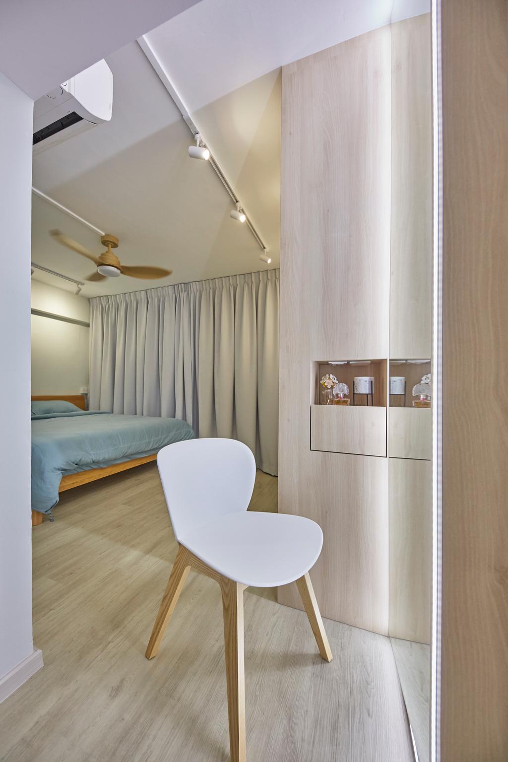 Modern, HDB, Bedroom, Potong Pasir, Interior Designer, Blanc, Minimalistic
