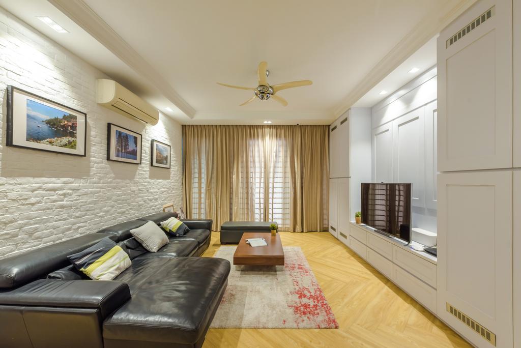 Contemporary, Condo, Living Room, Casa Espania, Interior Designer, Dap Atelier