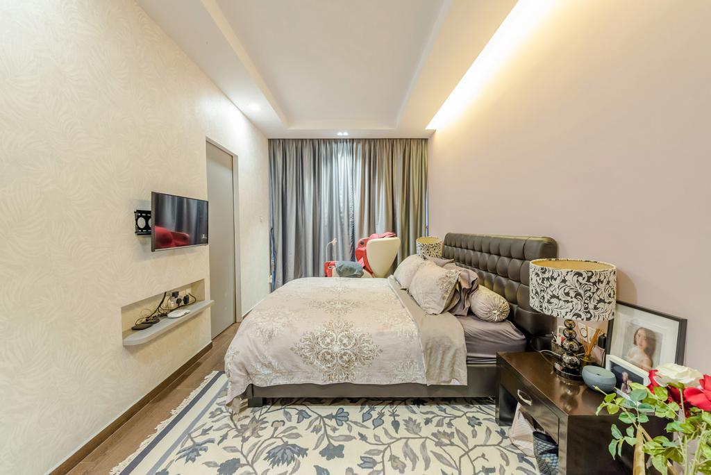 Contemporary, Condo, Bedroom, Casa Espania, Interior Designer, Dap Atelier