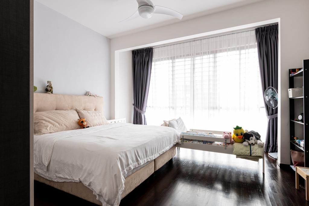 Modern, Landed, Bedroom, Riverina Walk, Interior Designer, Renologist