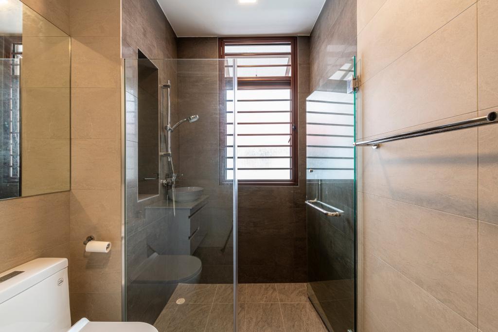 Modern, Landed, Bathroom, Riverina Walk, Interior Designer, Renologist