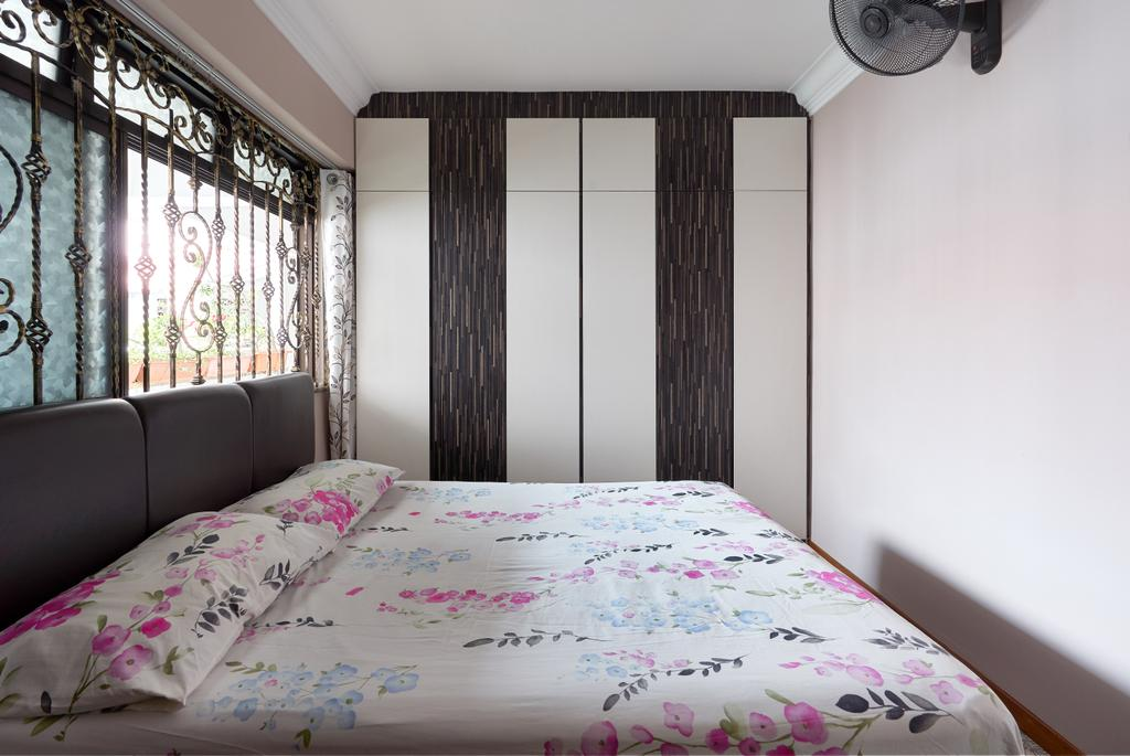 Contemporary, HDB, Bedroom, Choa Chu Kang Crescent, Interior Designer, Buildwerkz Builders