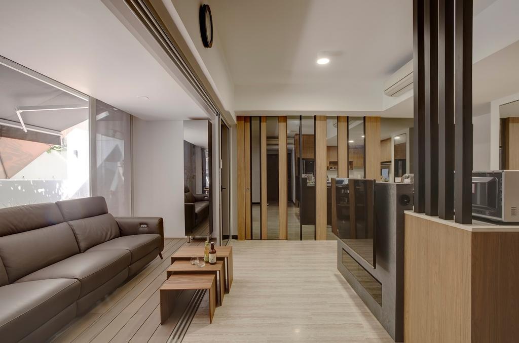 Modern, Condo, Living Room, Sophia Residence, Interior Designer, Space Factor