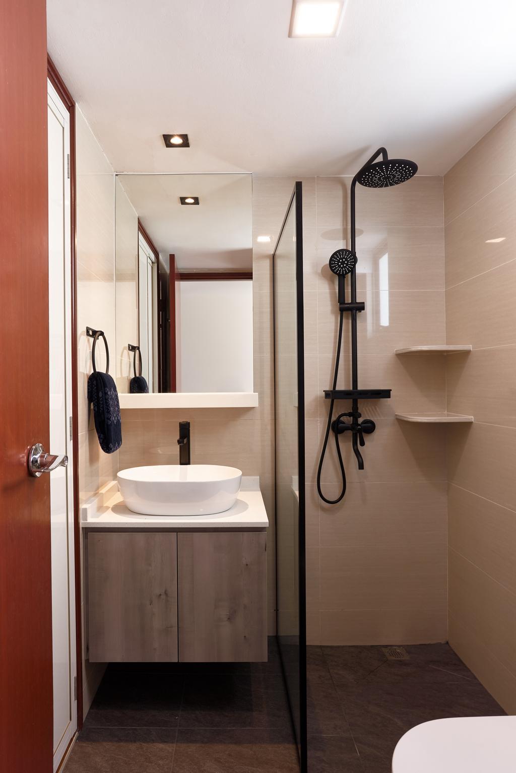 Contemporary, Condo, Bathroom, Aquarius By The Park, Interior Designer, Project Guru