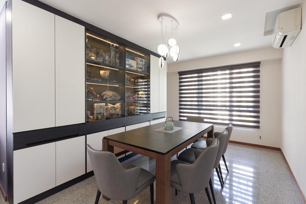 Contemporary, Condo, Dining Room, Aquarius By The Park, Interior Designer, Project Guru